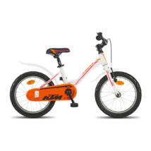 KTM Kinderfahrrad 1.16 Girl II weiss-orange-berry