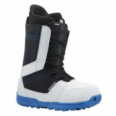Burton Snowboard bakancs INVADER white/black/blue