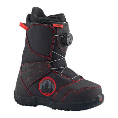 Burton Snowboard bakancs ZIPLINE BOA black/red