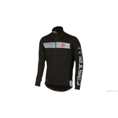 Castelli RADDOPPIA JACKET férfi kerékpáros kabát fekete