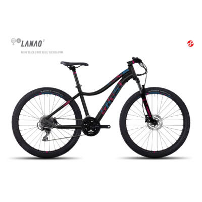 "Ghost LANAO 2 27,5"" 2017 női Mountain Bike black/blue/pink"