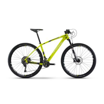 Haibike GREED HardNine 4.0 2017 Carbon Mountain Bike lime/antracit/fehér