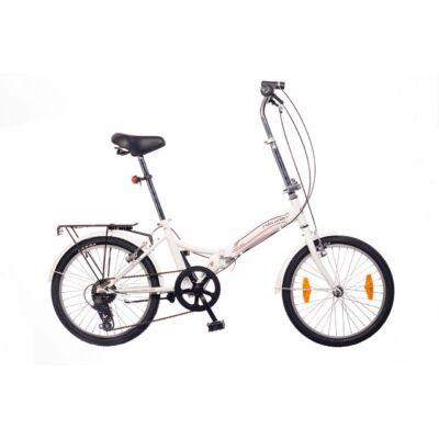 Neuzer Folding City 20 Összecsukható Kerékpár fehér/fekete-piros