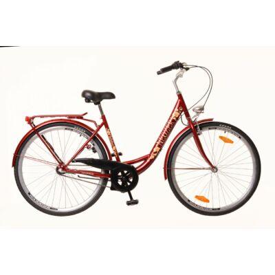 Neuzer Balaton 26 N3 női City Kerékpár bordó