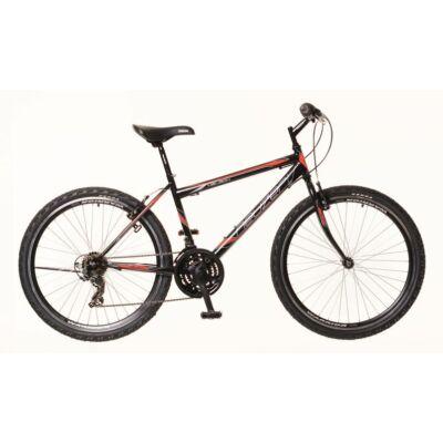 Neuzer Nelson 18 Mountain Bike fekete/piros-szürke