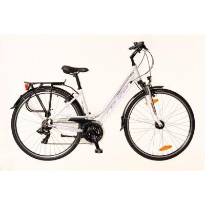 Neuzer Ravenna 100 női Trekking Kerékpár fehér/lila-szürke