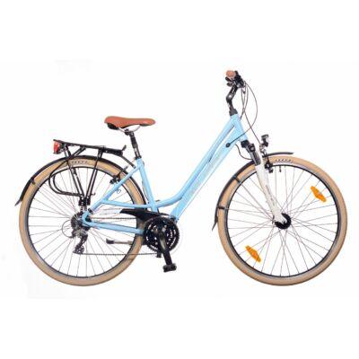 Neuzer Ravenna 200 női Trekking Kerékpár fehér/lila-szürke