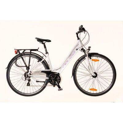 Neuzer Ravenna Alivio női Trekking Kerékpár fehér/lila-szürke