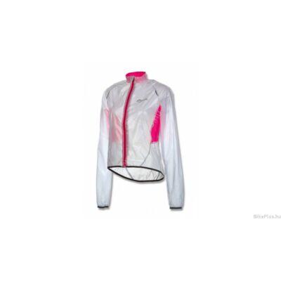 Rogelli CANELLI női kerékpáros esőkabát, átlátszó