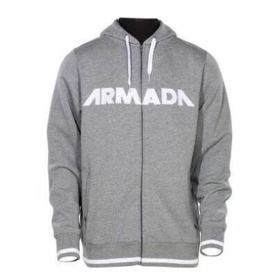 Armada Represent Hoody Heather Grey