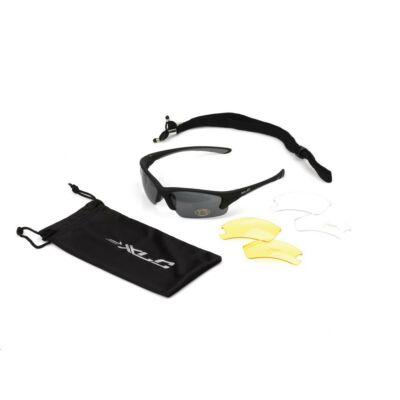 XLC Napszemüveg Fidschi fekete SG-C08