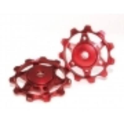 XLC Váltógörgő piros PU-A02
