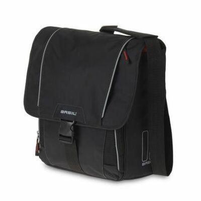 BASIL Táska Csomagtartóra 1 részes Sport Design Válltáska fekete