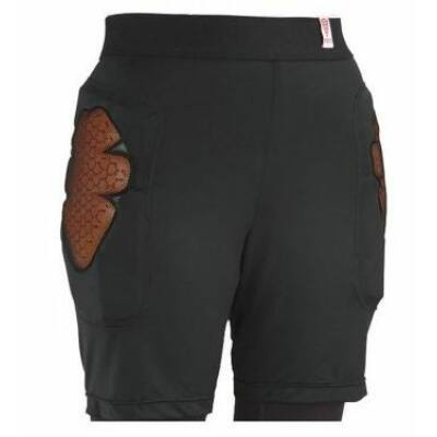 Red BASE LAYER SHORT WMS BLACK