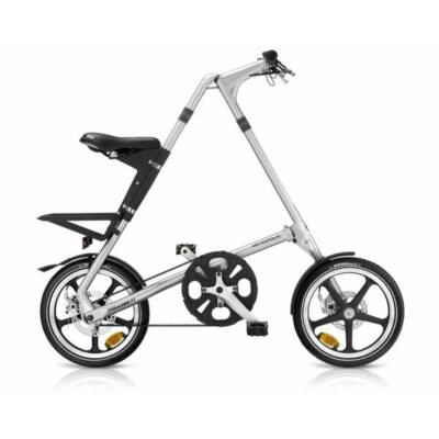 Strida METROPOLIS brush silver