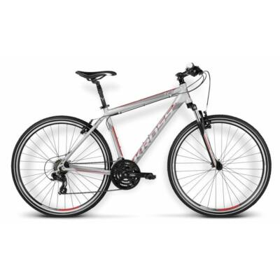 Kross Evado 1.0 silver-red-black matte