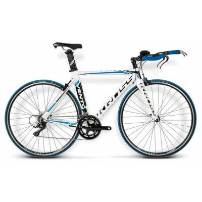 Kross Vento TR 1.0 white-blue glossy