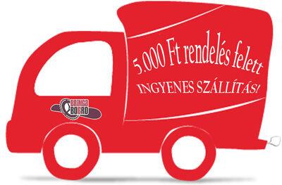 5000 Ft rendelés felett INGYENES szállítás!
