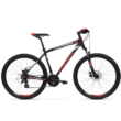 Kross Hexagon 3.0 27 2021 férfi Mountain Bike fekete-piros-ezüst
