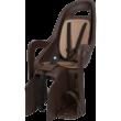 Polisport hátsó gyerekülés Groovy Maxi FF 29, kis méretű és 29-es vázra szerelhető sötétbarna-barna