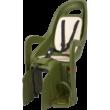 Polisport hátsó gyerekülés Groovy Maxi FF 29, kis méretű és 29-es vázra szerelhető sötétzöld-krém