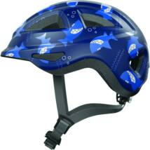 Abus kerékpáros gyereksisak Anuky 2.0 ACE blue sharky