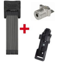 Abus 6015/90 Bordo SH + ABUS Plus cilinder Bosch akkuhoz IT(Gen 2) Powertube vázcsőbe