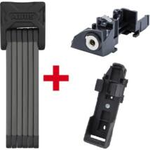 Abus lakat 6015/90 Bordo SH + ABUS Plus cilinder Bosch akkuhoz GT(Gen 2) csomagtartóra