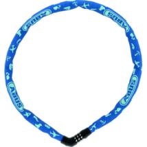 Abus láncos lakat jelkóddal 4804C/75 Steel-O-Chain kék