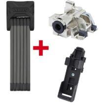 ABUS Plus cilinder Bosch e-bike akkuhoz RH (Gen2) alsó vázcsőre + ABUS lakat 6015/90 Bordo SH