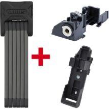 ABUS Plus cilinder Bosch e-bike akkuhoz GT (Gen2) csomagtartóra + ABUS lakat 6015/90 Bordo SH