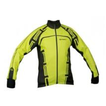 Author ARP WINTERJET 13F férfi kerékpáros kabát, fluorit/fekete