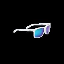 Bbb BSG-56 kerékpáros szemüveg Town matt fehér keret / MLC zöld polarizált lencsékkel