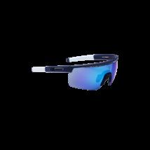 BBB BSG-57 kerékpáros szemüveg Avenger matt sötét kék keret fehér szárvéggel / MLC sötétkék lencsékkel