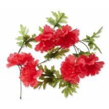 Basil Dísz Pünkösdi Rózsa Girland Korall