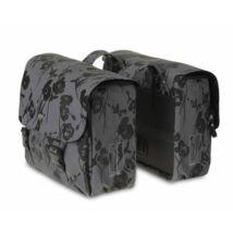 BASIL Táska Csomagtartóra 2 részes ELEGANCE-DOUBLE BAG 32 L szürke