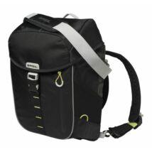 BASIL Táska Csomagtartóra 1 részes MILES Daypack 14L fekete-lime