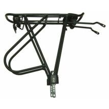 Bikefun Csomagtartó Alu 24-28 Feket Állítható