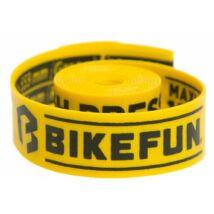 "Bikefun Felniszalag 27,5"" 18x584 SafeTape sárga"