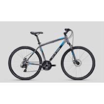 CTM Tranz 2.0 férfi Cross Kerékpár szürke-fekete-világoskék