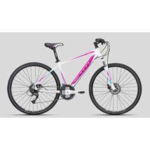 Ctm Elite 1.0 White/Purple Női Cross Kerékpár -fehér/Lila - (2016)