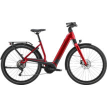 Cannondale Mavaro Neo 5+ női E-bike piros