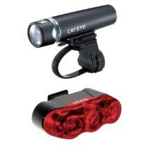 Cateye Lámpa Szet Uno + Rapid3 Első+Hátsó