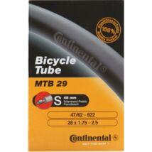 Continental belső tömlő kerékpárhoz MTB 28 / 29 inch 47/62-622 A40 dobozos (Auto A40 szelep)