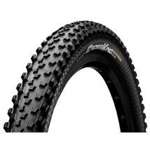 Continental gumiabroncs kerékpárhoz 58-584 Cross King 2.3 Protection 27,5x2,3 fekete/fekete, Skin hajtogathatós
