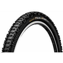 Continental Gumiabroncs Kerékpárhoz 60-584 Trail King 2.4 27,5x2,4 Fekete/Fekete, Skin Hajtogathatós