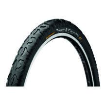 Continental gumiabroncs kerékpárhoz 47-559 Town&Country 26x1,9 fekete/fekete, Skin