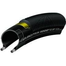 Continental gumiabroncs kerékpárhoz 20-622 Grand Prix 4000S II 700x20C fekete/fekete, Skin hajtogathatós