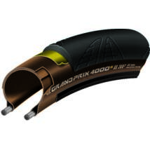 Continental Gumiabroncs Kerékpárhoz 23-622 Grand Prix 4000s Ii 700x23c Fekete/Transz, Skin Hajtogathatós