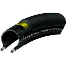 Continental gumiabroncs kerékpárhoz 25-622 Grand Prix 4000S II 700x25C fekete/fekete, Skin hajtogathatós